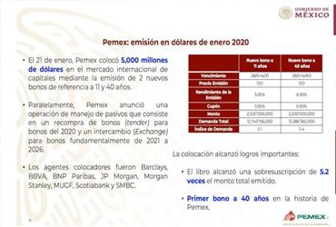 Prevé Pemex llegar a 1.8 mbd en marzo