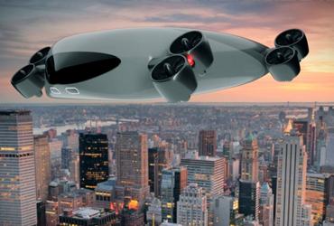 El transporte del futuro; Kelekona desarrolla un minibús aéreo para 40 pasajeros