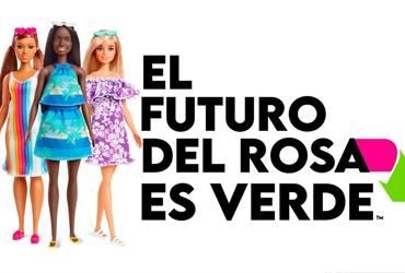 Mattel lanza colección de muñecas Barbie fabricadas con plástico reciclado