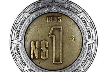 ¡Revisa tu bolsillo! Moneda de 1 peso se vende hasta en 10 mil pesos en internet